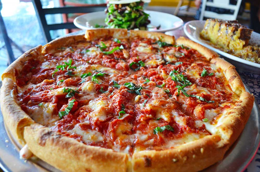 Deep Dish Pizza In Los Angeles Is Masa