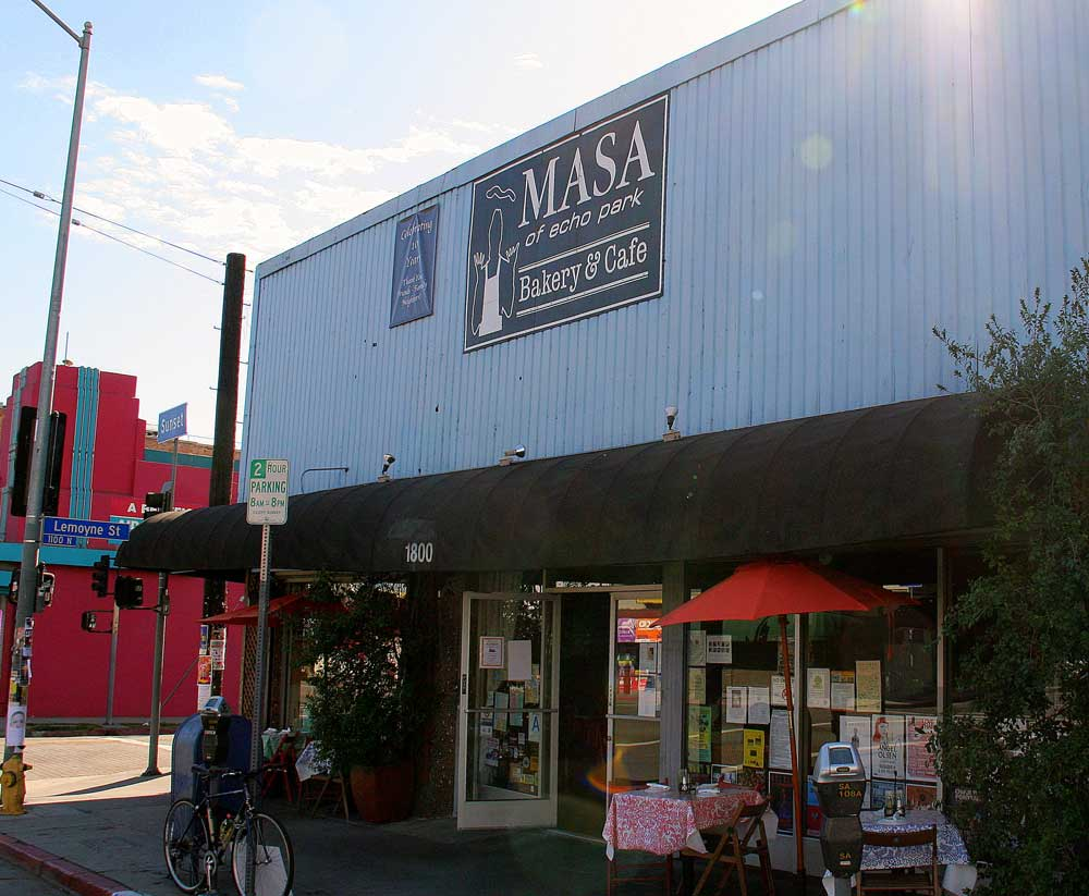 View of Masa from Sunset Blvd